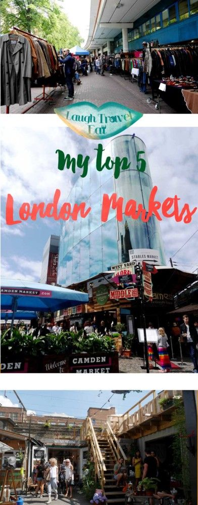 London has a million markets, from your average small farmers market in your neighbourhood to the world famous Portobello Market you are spoilt for choice.