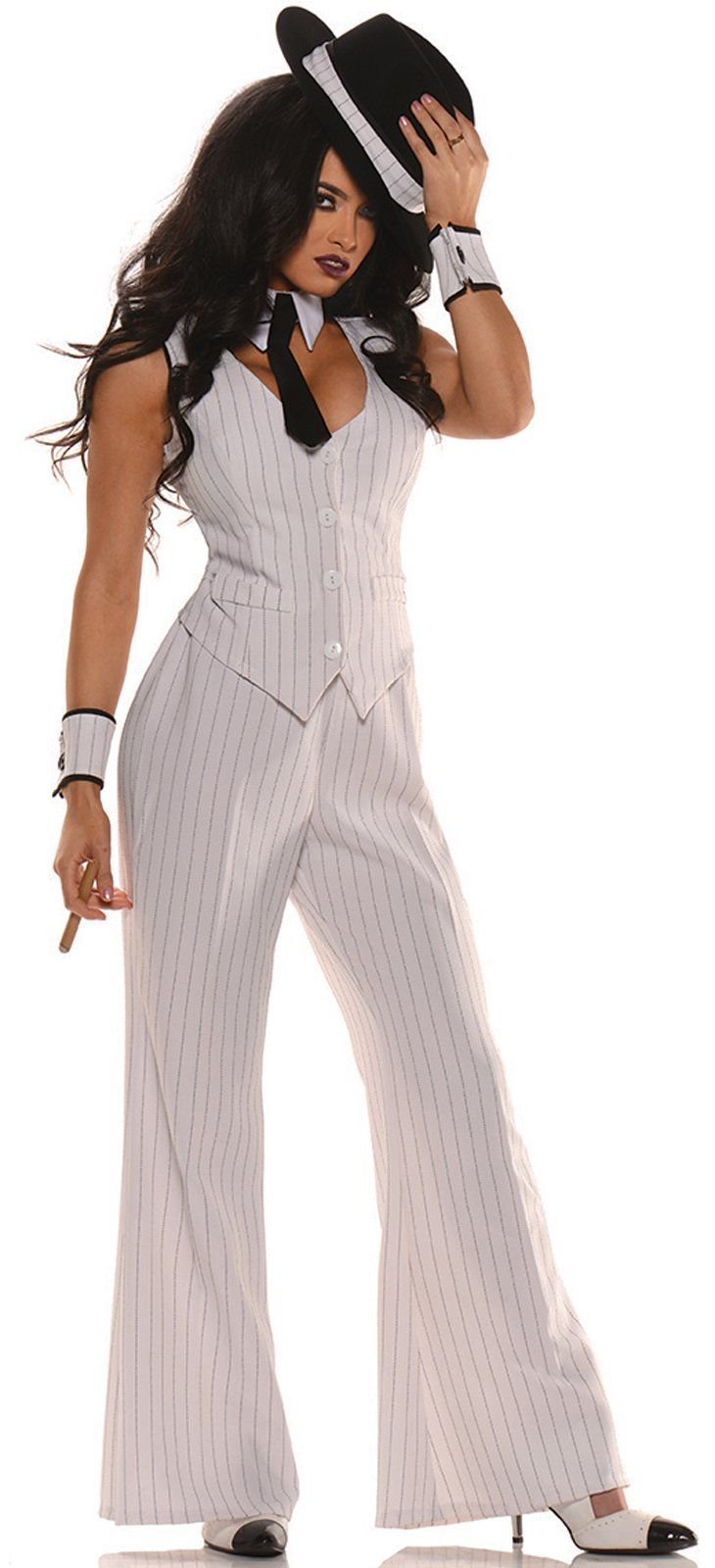 Womens Mob Boss Gangster Costume from Buycostumes.com                                                                                                                                                                                 More
