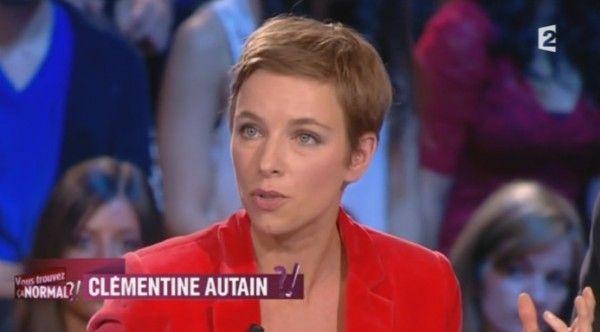 Clémentine Autain, femme politique de gauche et militante féministe française