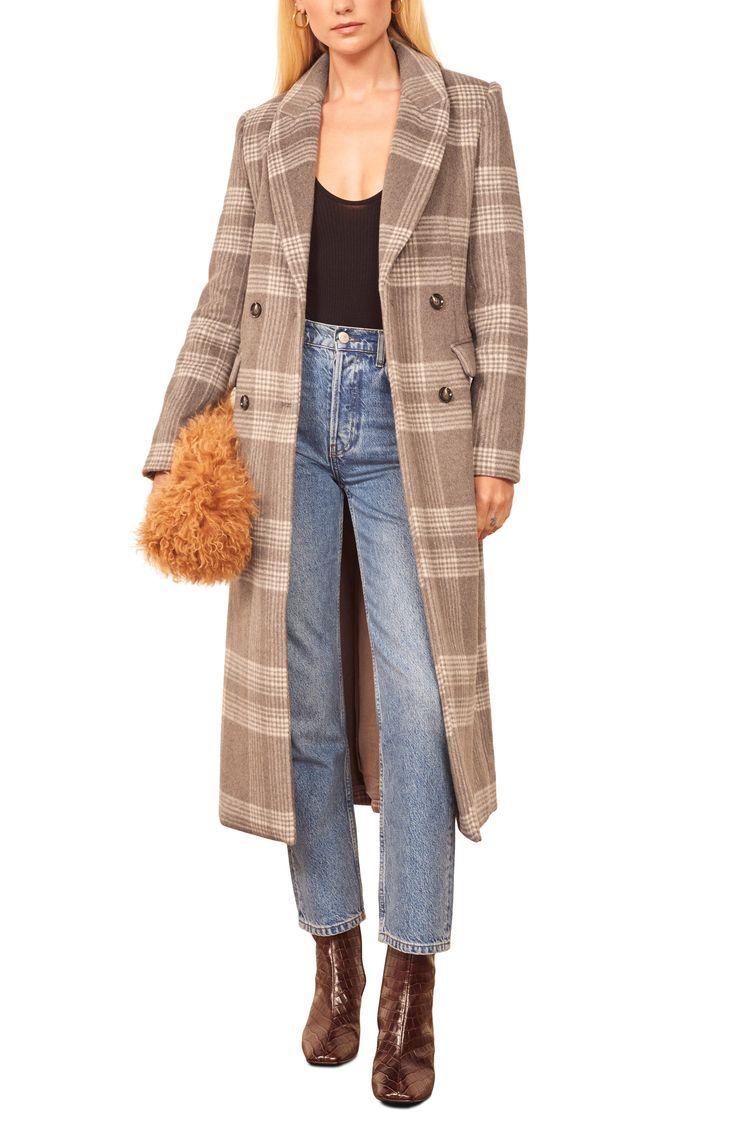 Reformation York Coat Nordstrom Fall Fashion Coats Coat Fashion Clothes Women [ 1128 x 736 Pixel ]