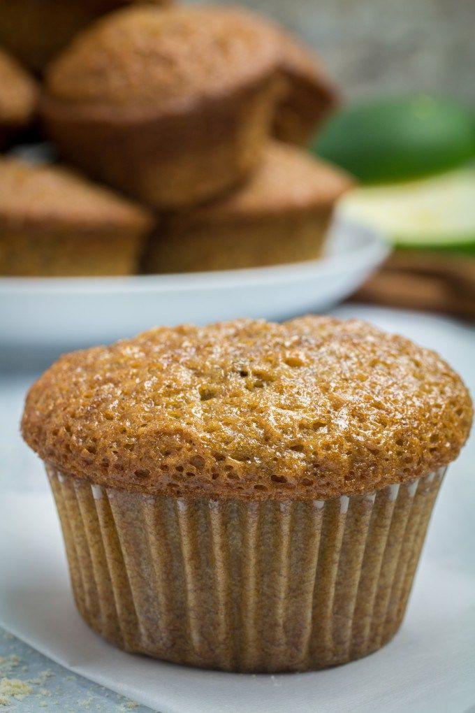 Gluten Free Zucchini Bread Muffins