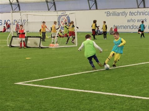 Soccer Schools are back for October half-term!