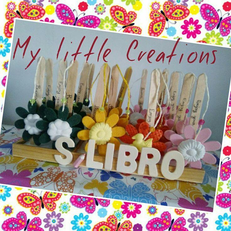 """I nostri s/libro profumati, BUONA LETTURA! Ci trovate anche su facebook """"My Little Creations"""""""