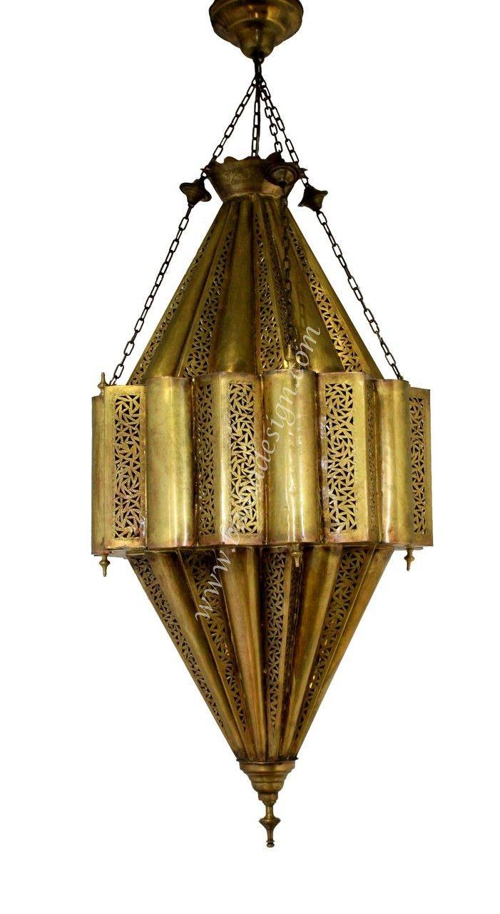 Decorative Moroccan Style Brass Chandelier Ch075