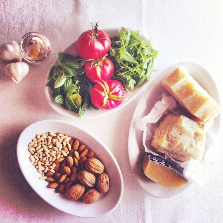 Homemade pesto. For more yummy recipes visit my blog http://mozzarelladiaries.blogspot.it/