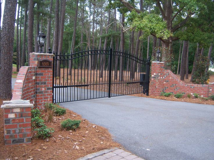 46 Best Images About Driveway Gates Popular And Classic