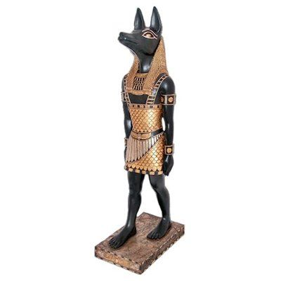 Basil Street Gallery The Egyptian Jackal-God Anubis Statue