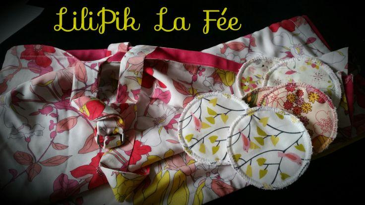 Cape et coussinet d'allaitement by LiliPik La Fée