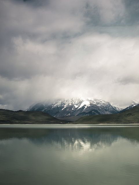 """rosesinaglass: """" Salt lake in Torres del Paine - chile by dataichi on Flickr. """""""