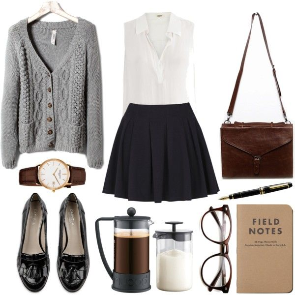 If you need a polished, put-together outfit for school or if you need to dress…