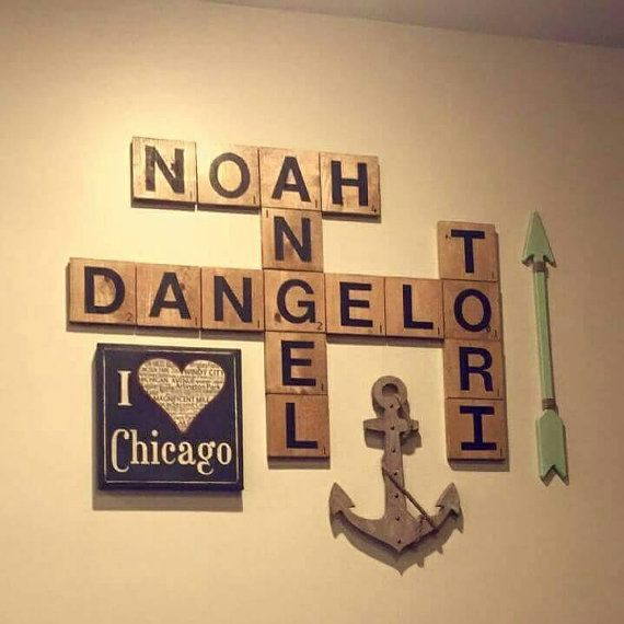 Famous Scrabble Wall Art Tiles Contemporary - Wall Art Design ...