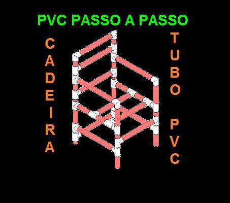 PVC PASSO A PASSO: Cadeira tubo PVC                                                                                                                                                      Mais