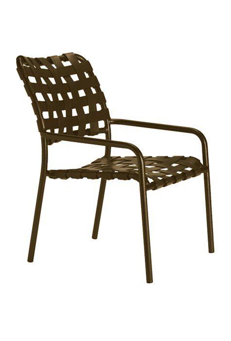 Kahana Cross Strap Dining Chair | Tropitone