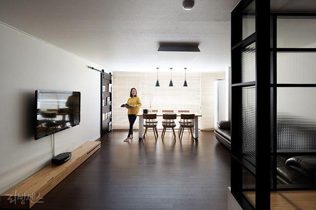 새집처럼 구조변경한 20년 된 아파트 : 네이버 매거진캐스트
