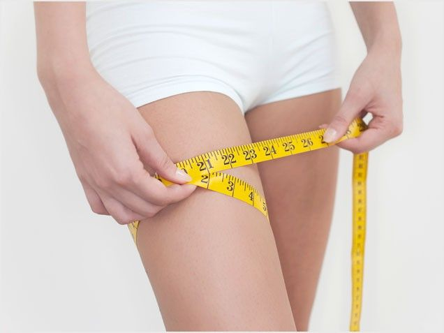 """Another pinner said """"Tried this and I was dying. Thinner thighs in 7 days...they're not lying."""""""