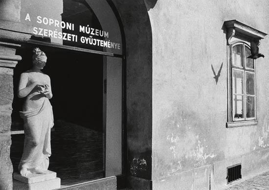André Kertész - Sopron, Hungary, 1971, Silver print