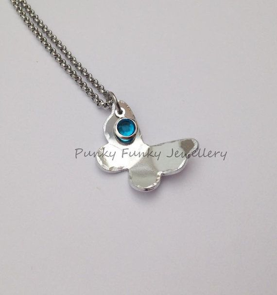 Sterling Silver Healing Hand Necklace Set With Birthstone - July - Gift Boxed Pe83KKnY