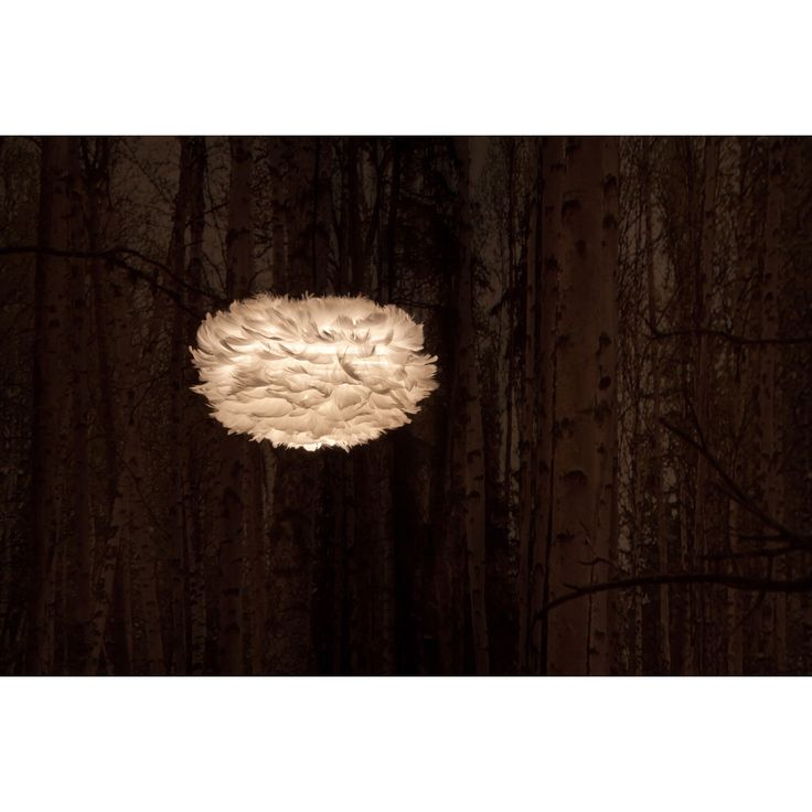 Eos fjerlampe pendel S, hvid i gruppen Belysning / Lamper / Loftlamper hos ROOM21.dk (117008)