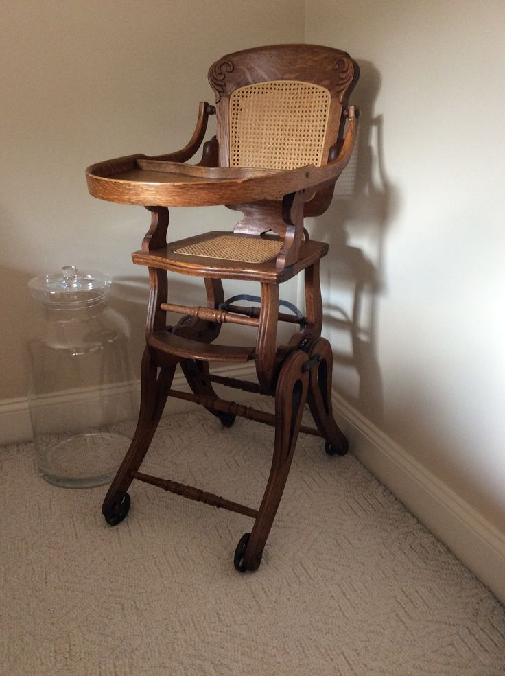 1000 Ideas About Antique High Chairs On Pinterest High