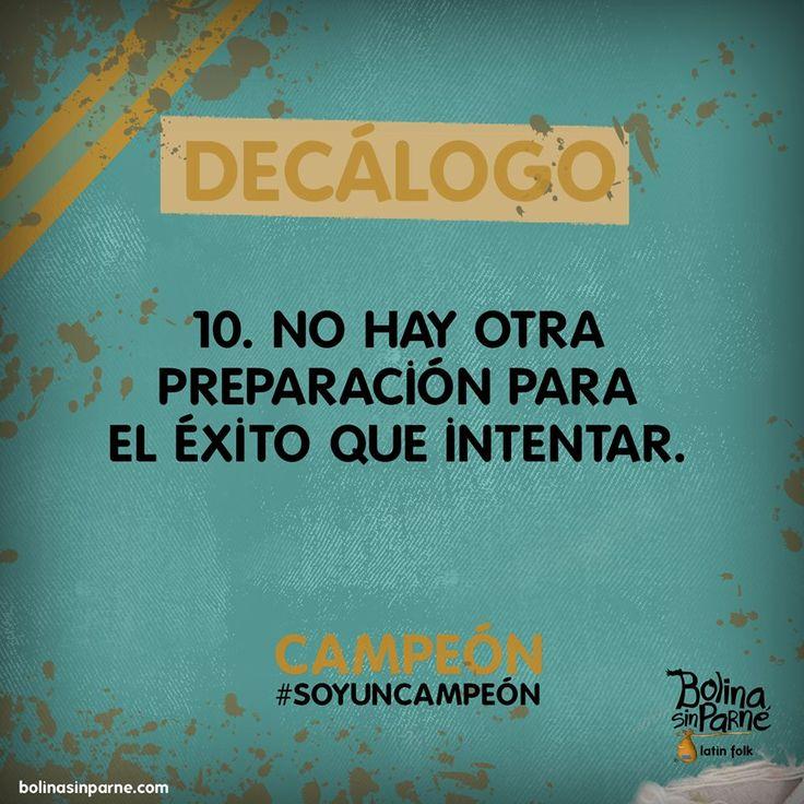 #10 | Decálogo del Campeón.