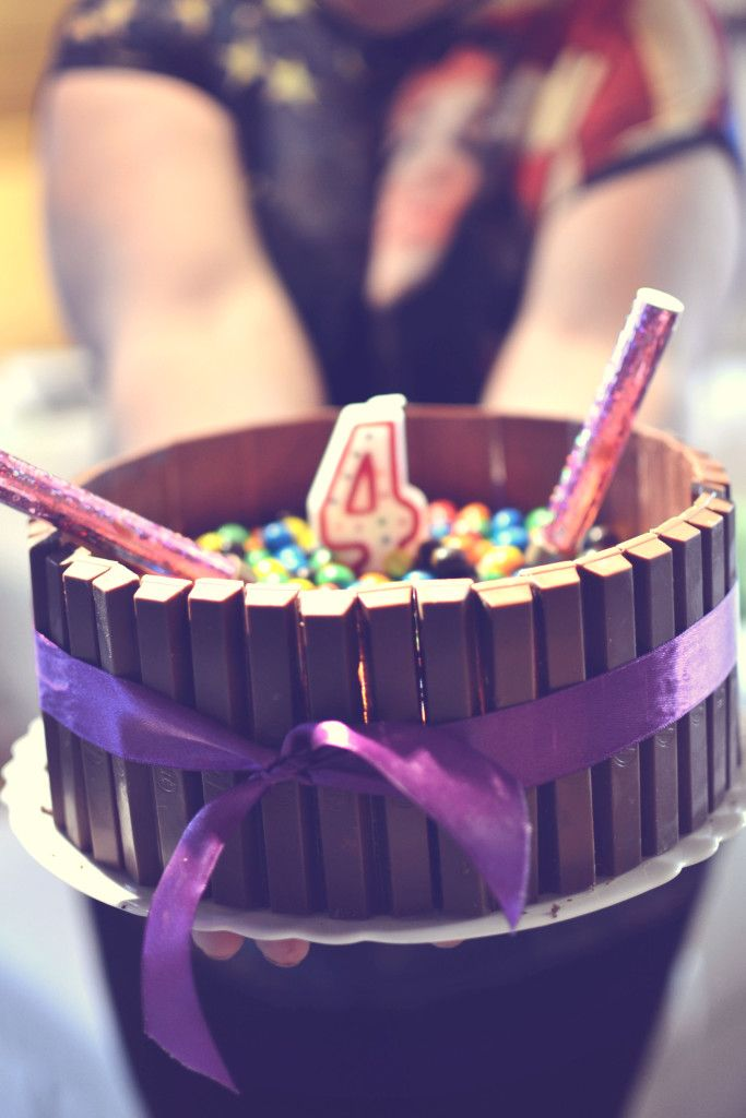 JAK ZROBIĆ CZEKOLADOWY TORT URODZINOWY? Czyli Kinderkowe urodziny #tortczekoladowy