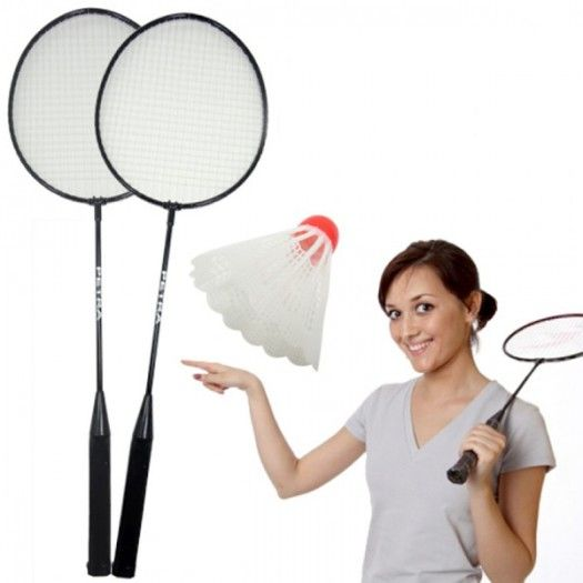 Badminton Seti (2 Raket+ 1 Top)