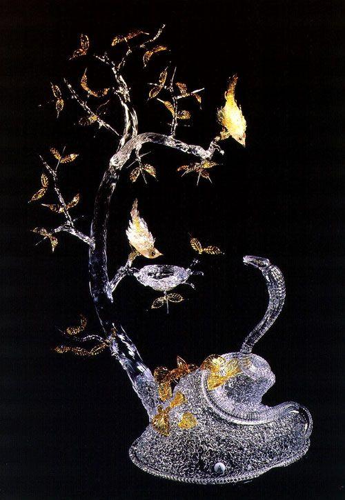 Завораживающие шедевры от художника по стеклу - Алексей Зель
