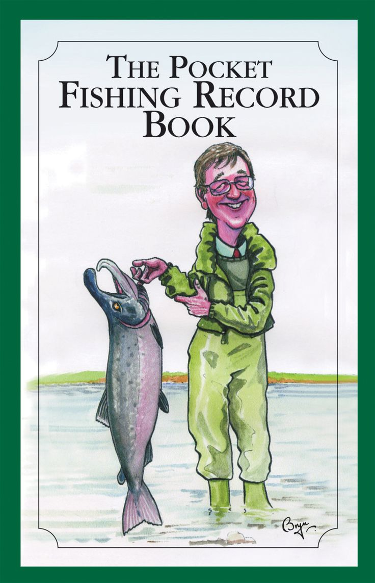 The Pocket Fishing Record Book. #pocket #fish #fishing #record #book #country #countryside #sport #sporting #books