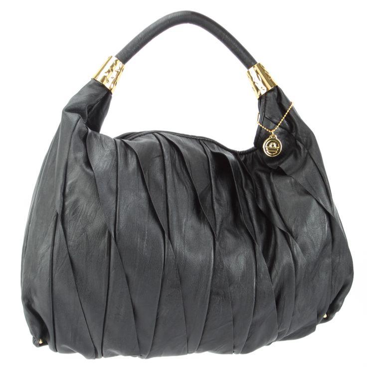 Big Buddha Nya Hobo Bag- Black - Fashion
