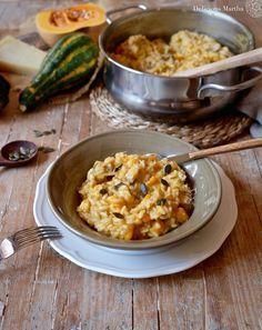 Si te gusta la comida italiana y disfrutas con ella, no te pierdas este plato otoñal. Un risotto de calabaza con boletus que te encantará.