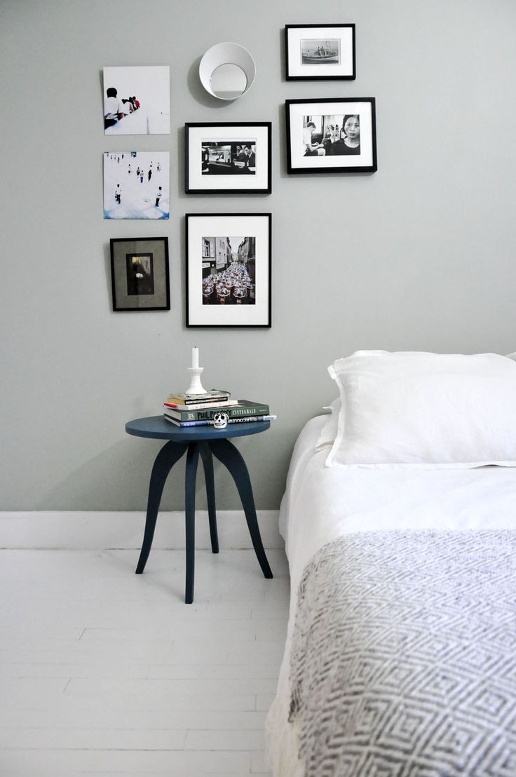 Petite table en bois de style art d co peinte en bleu - Bleu vintage peinture ...