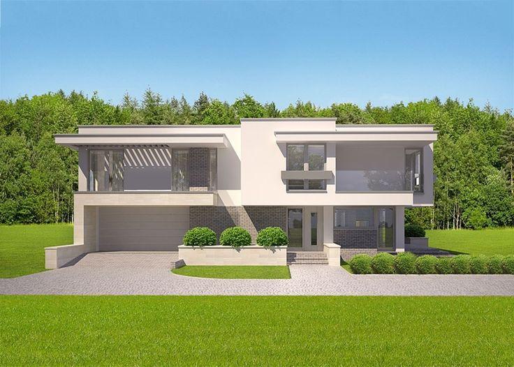 DOM CK2-18 - gotowy projekt domu