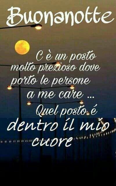 Buona notte amore mio