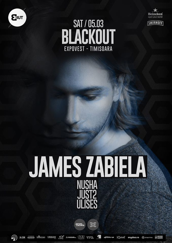 James Zabiela – cel ce s-a născut electric, ajunge în Timișoara pentru a ne da o lecție de dans și muzică bună!