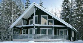 Финские двухэтажные дома