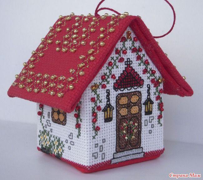 "Рождественский домик ""Dressing the tree"""