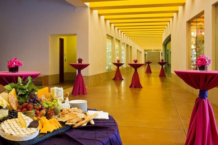 The museum's hallways provide plenty of lighting for your event no matter the time of day.