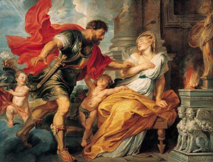 Rea Silvia e il dio Marte (dipinto di Peter Paul Rubens)