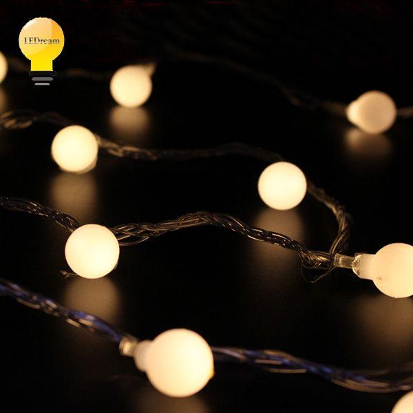 СВЕТОДИОДНЫЕ лампочки мигают лампы фестиваль Рождество свадьба мяч лампы серии водонепроницаемый открытый звезды неоновые лампы, украшения