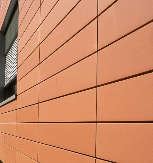 hunter douglas terra cotta panels brentwood library