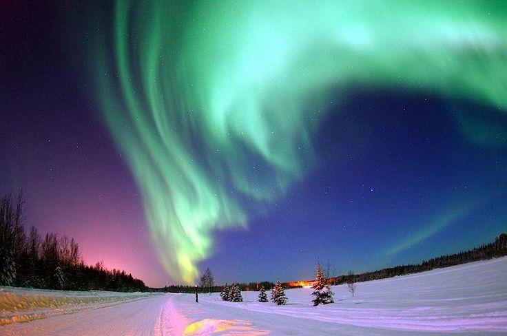 Sitka, Alaska northern lights .....i will go to Alaska and see the northern lights someday!