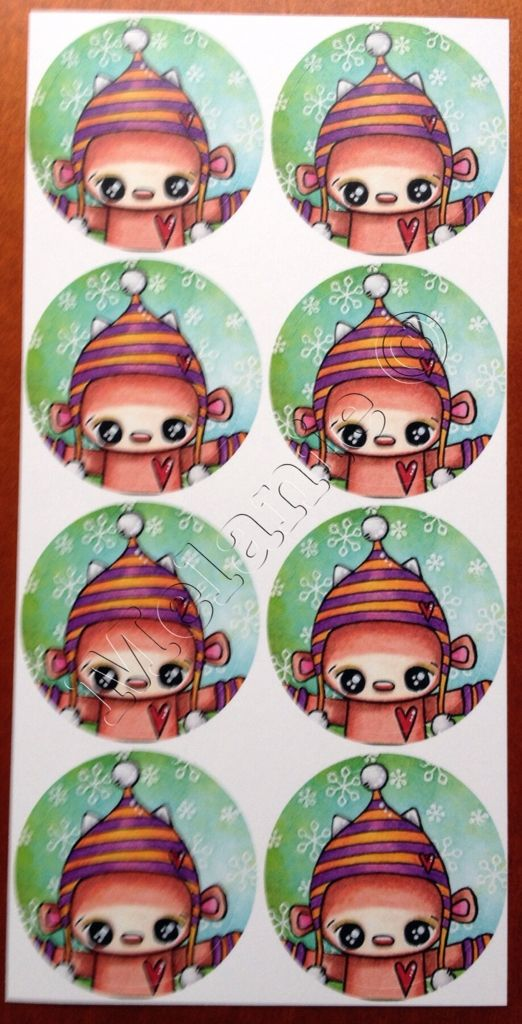 Doepa winter stickers