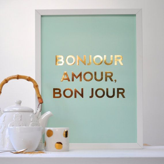 Good Morning Gay In French : Best images about prints on pinterest typography