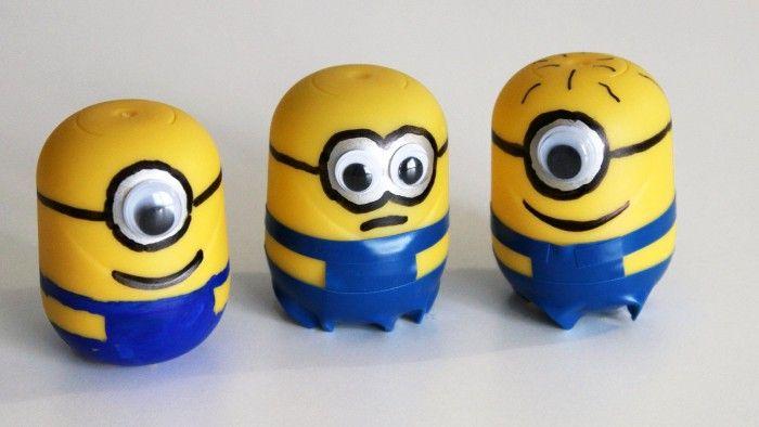 ¿Cómo hacer Minions con Huevos Kinder Sorpresa?