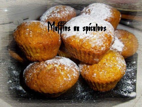 Mon livre de recettes: Muffins au spéculoos