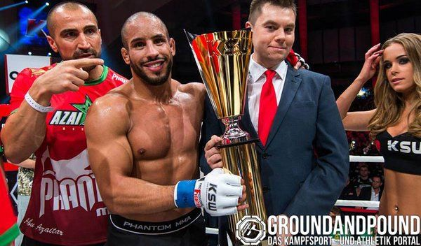 Number 1 in German MMA Rankings Abu Azaitar. here after his win at KSW