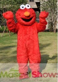 Super mignon Elmo Rue Sésame Mascotte Costume  occ...