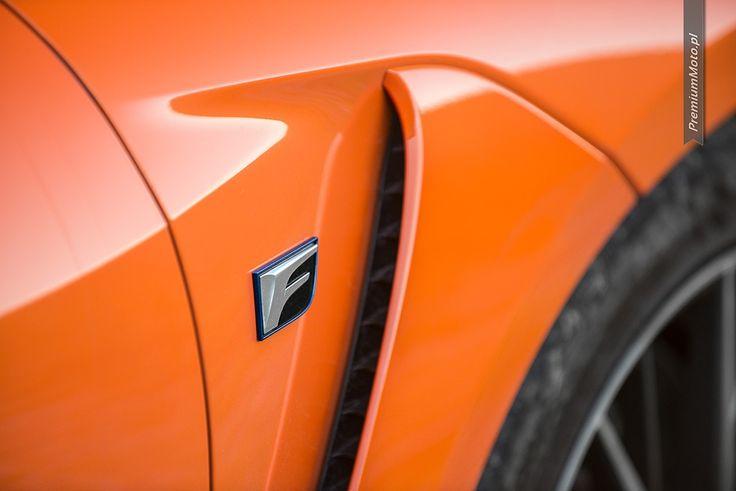 Lexus RC-F Carbon F badge.  #lexus #rc-f #carbon
