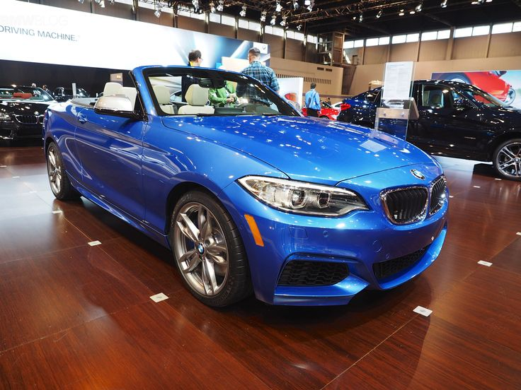2015 Chicago Auto Show: The New BMW 2 Series Convertible - http://www.bmwblog.com/2015/02/13/2015-chicago-auto-show-new-bmw-2-series-convertible/