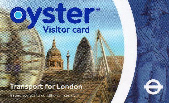 Oyster Card - London Underground Travel Card